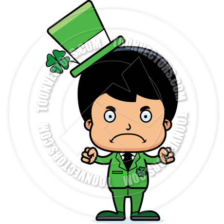 460x460 Cartoon Angry Irish Boy By Cory Thoman Toon Vectors Eps