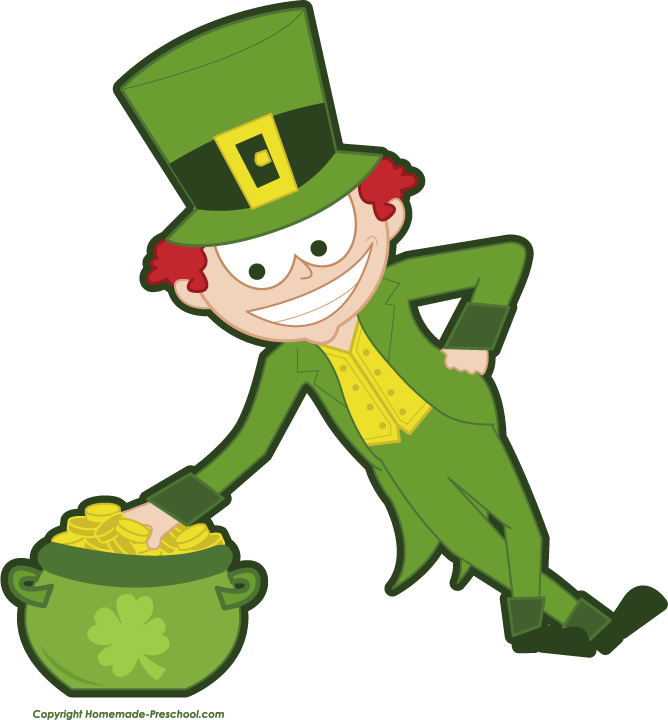 668x720 Free irish clipart 5