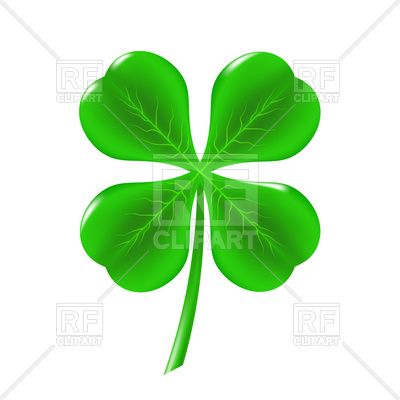 400x400 Green clover leaf