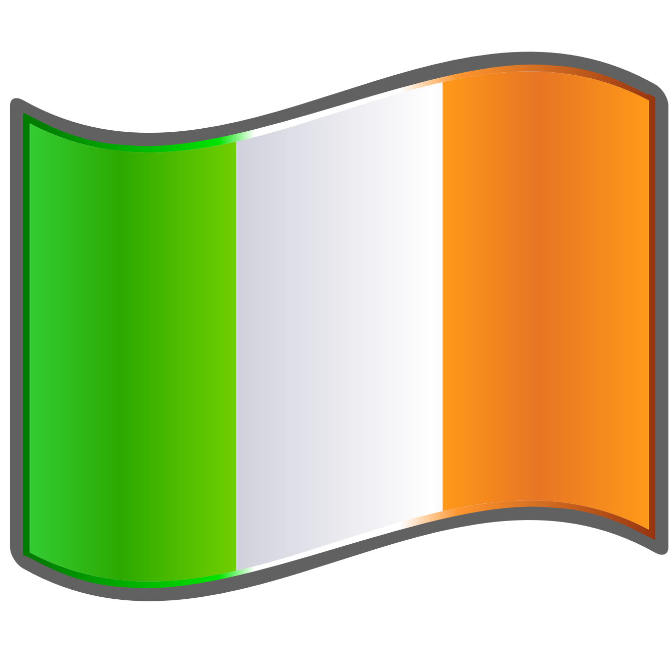 1331x1331 Ireland clipart irish flag