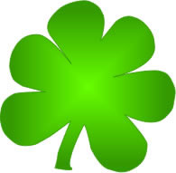 195x191 Irish Shamrock clip art