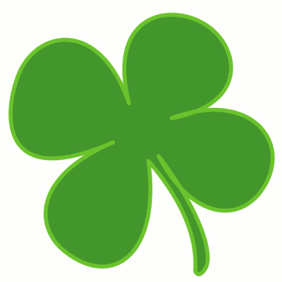 400x400 Irish Dance Shamrock Clipart