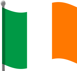 263x242 Irish Flag Clipart Free