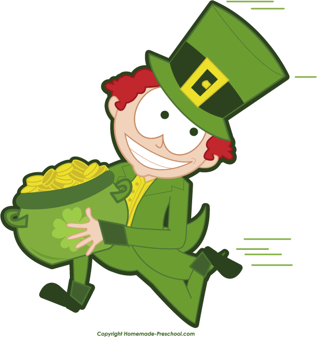 622x661 Leprechaun Free Irish Clipart
