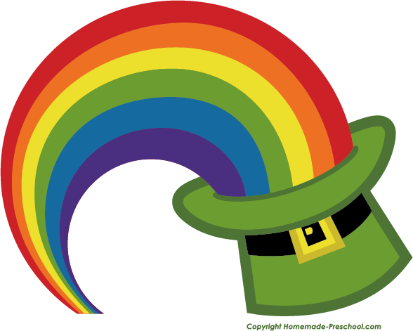588x471 Rainbow Free Irish Clipart