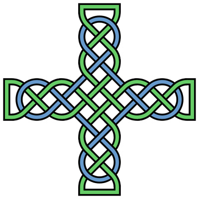 400x400 Free Celtic Cross Clipart