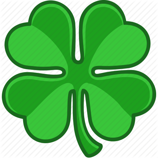 512x512 Clover, Ireland, Irish, Luck, Lucky, Saint Patrick, Shamrock Icon