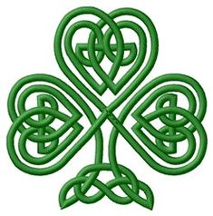 235x238 Irish Clover Shamrock Celtic Knot Decal Sticker You Pick Color