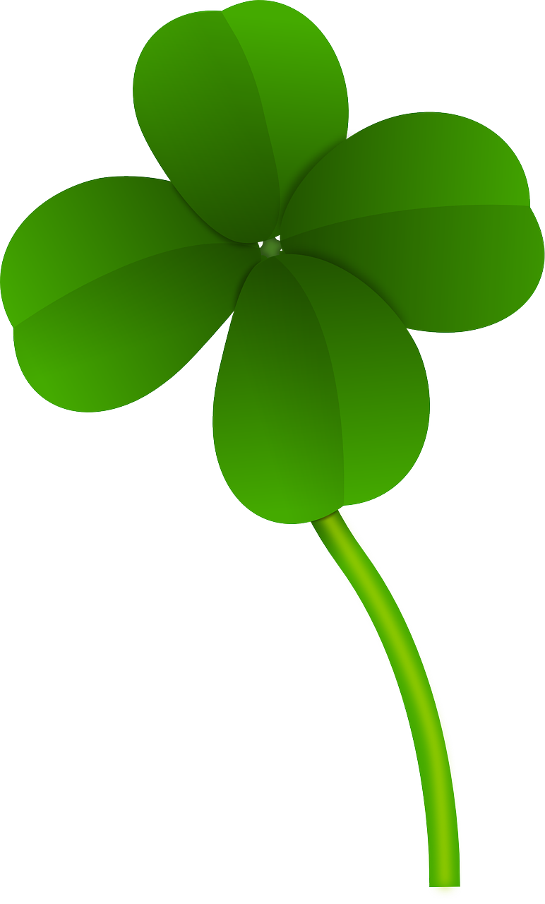 772x1280 Irish Clover Clipart