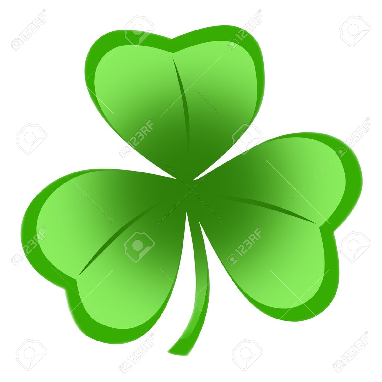 1300x1300 Isolated Shamrock Clipart, Explore Pictures