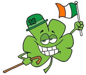 300x262 Free Irish Flag Clip Art Image