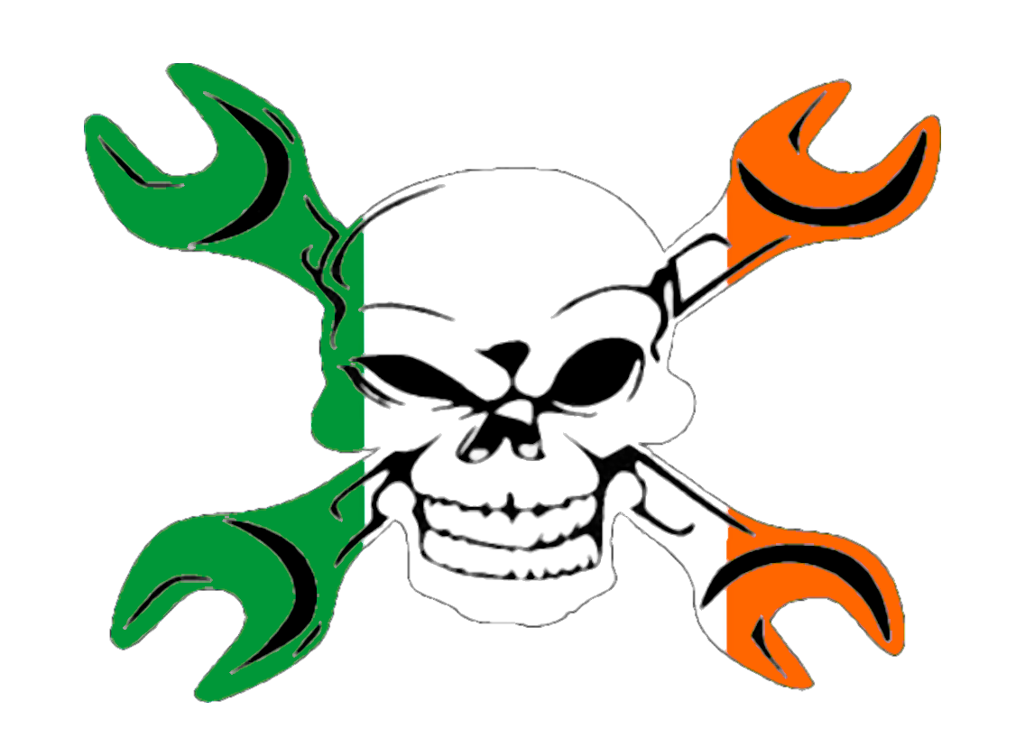1136x838 Gear Head Irish Flag Free Images