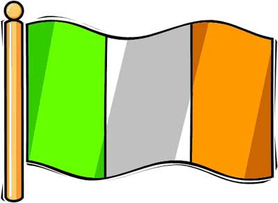 400x292 Irish Clipart Irish Flag