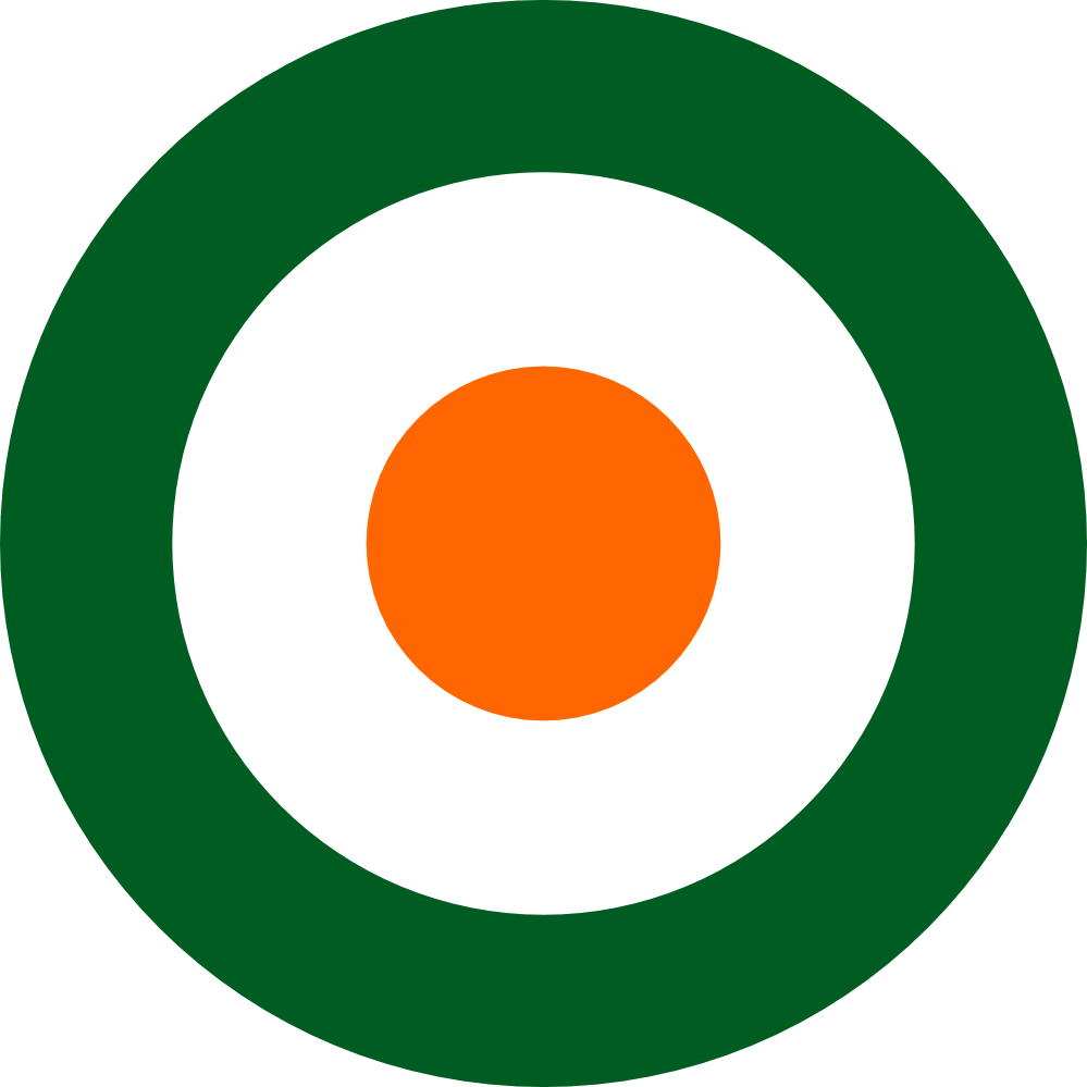 999x999 Clip Art Irish Air Corps Roundel Flag Saint