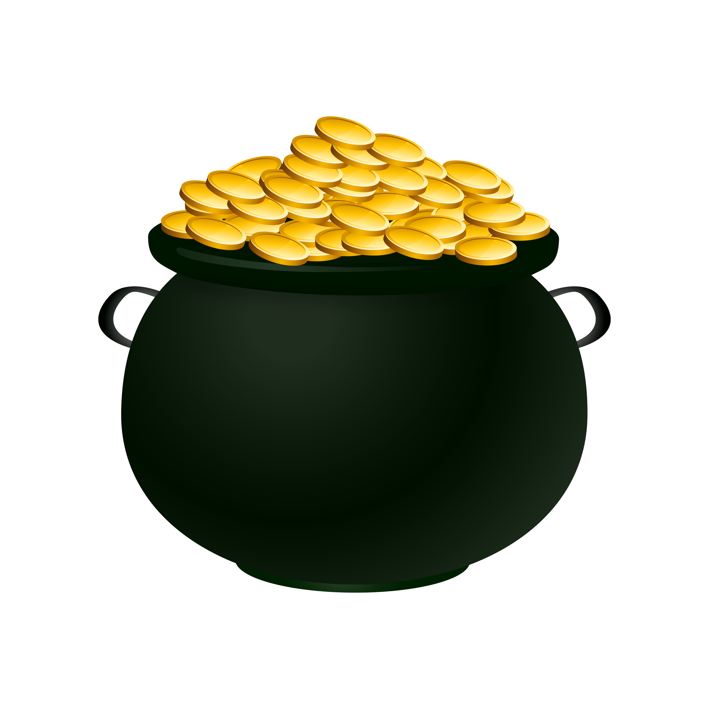 2400x2400 Irish Clipart Gold Coin
