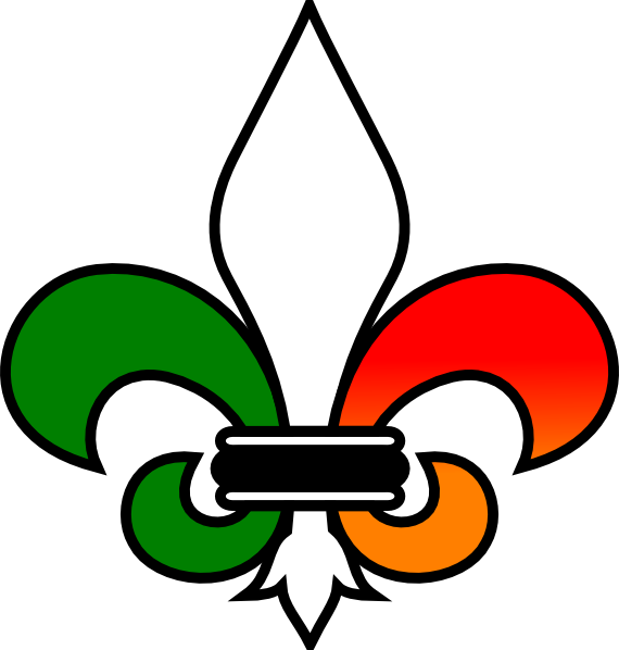 570x598 Irish Italian Clip Art