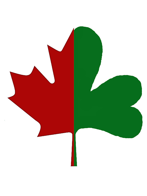 600x800 Irish Canadiancanadian Irish Stickers By Kevin Whitaker Redbubble