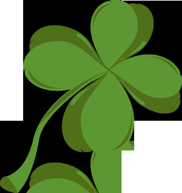 640x679 Irish Dance Shamrock Clipart