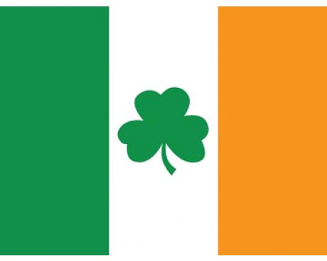 460x368 Irish And St. Patrick's Day Flags, Including Shamrock Flags, Irish