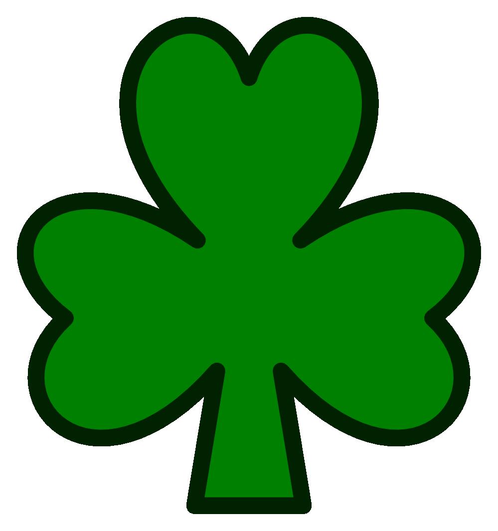 999x1066 Irish Clipart Shamrock