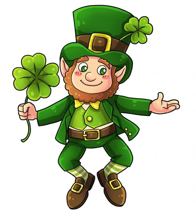 671x728 Coloring Pages Cute Are Leprechauns Irish The Legend