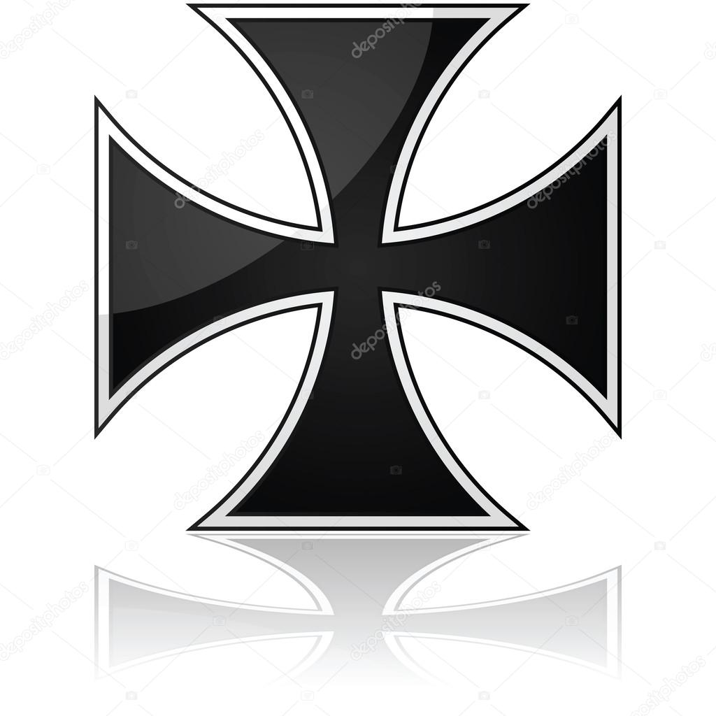 1024x1024 Iron Cross Stock Vector Bruno1998