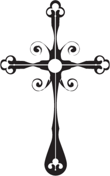 375x600 Vector Gothic Cross By Turyimaging D Hfcqa Free Images
