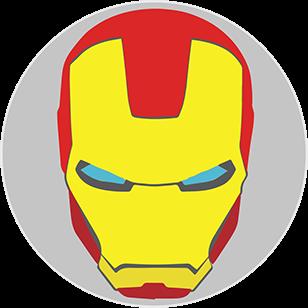 308x308 Icones Iron man, images Tony Stark png et ico