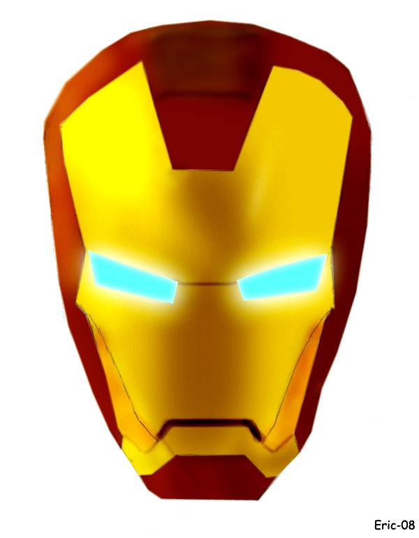600x771 Iron Man Logo Clipart