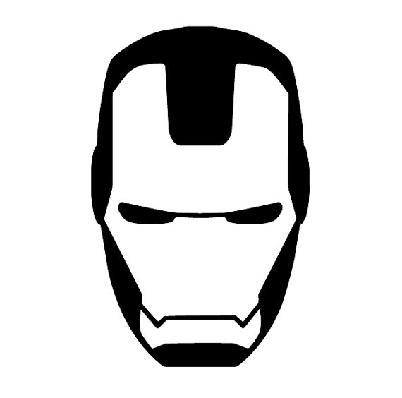 570x564 Iron Man Mask Clip Art