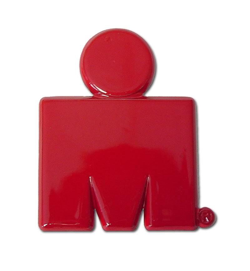 800x867 Ironman M Dot Logo Red Car Emblem