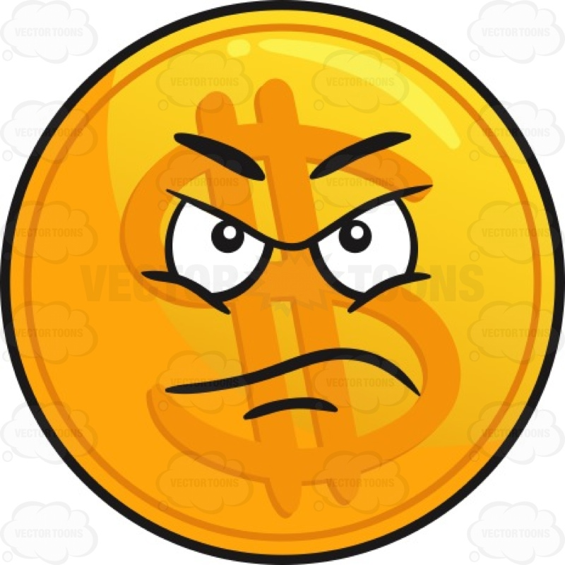 800x800 Displeased Golden Coin Emoji Emoji And Emoticon