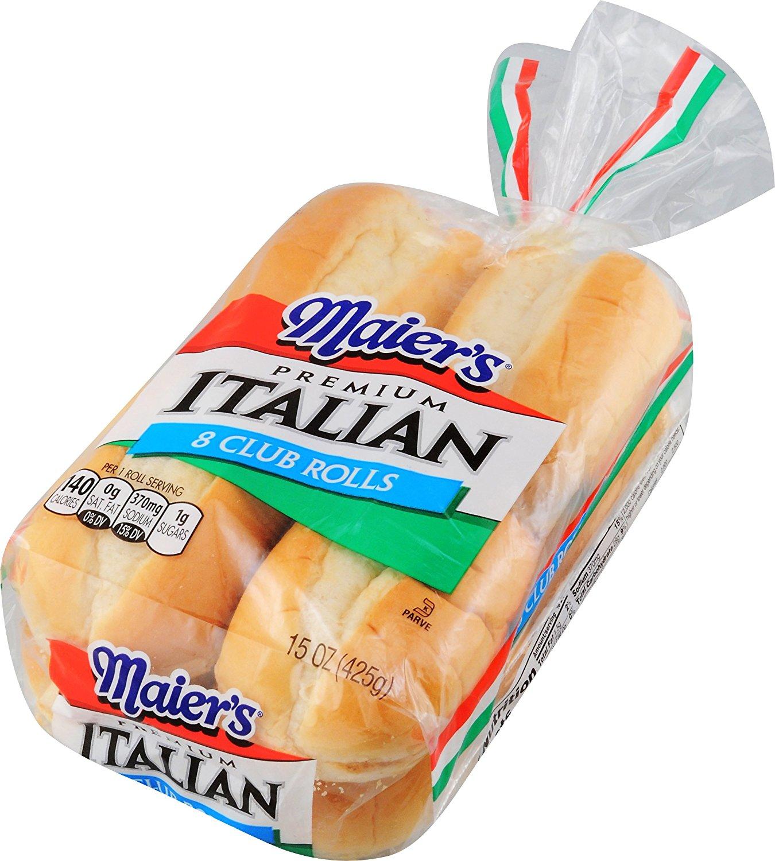 1350x1500 Maier'S, Italian Club Roll, 15 Oz Grocery Amp Gourmet Food
