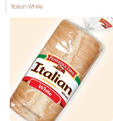 372x397 Pepperidge Farm White Italian Bread