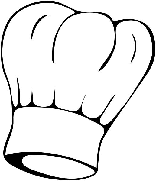 516x599 Chef Hat Clip Art