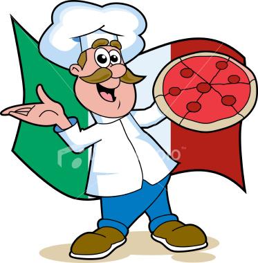 373x380 Italian Chef Clipart