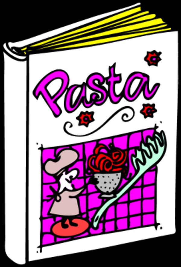 600x882 Pasta Free Spaghetti Dinner Clipart 3