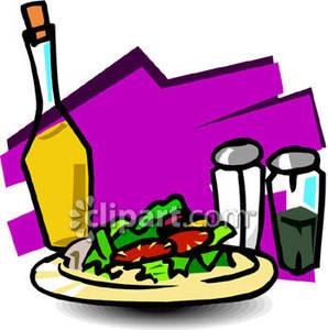 298x300 Salad Luncheon Clip Art