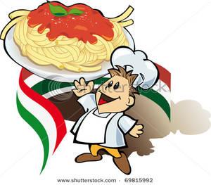 300x263 Spaghetti Plate Clipart