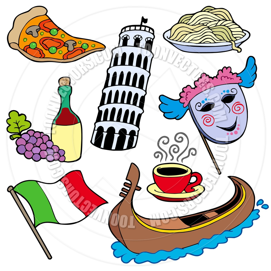 940x940 Cartoon Italian Collection By Clairev Toon Vectors Eps