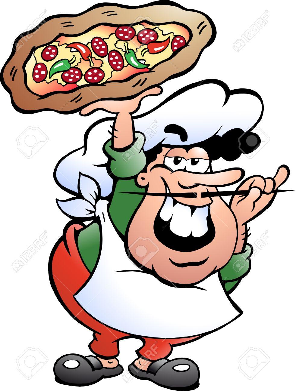 982x1300 Italian Dinner Funny Clipart