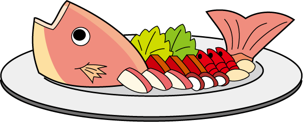 605x243 Best Cooked Fish Clipart
