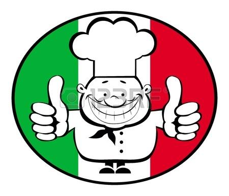 Italian Flag Clipart