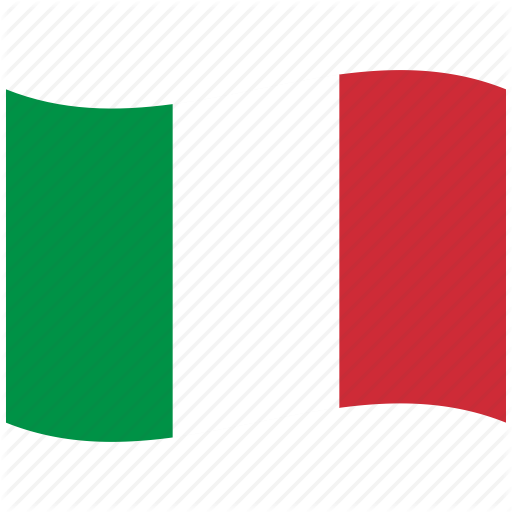 512x512 Green, It, Italian Flag, Italy, Red, Rome, Waving Flag Icon Icon
