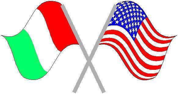 583x307 Italian American Flag Clipart