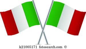 300x173 Italian Flag Clip Art