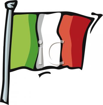 344x350 Italian Flag Clipart 1958164