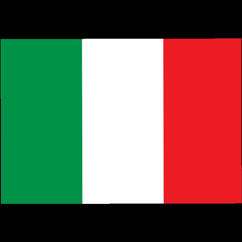 800x800 Italian Flag Clipart