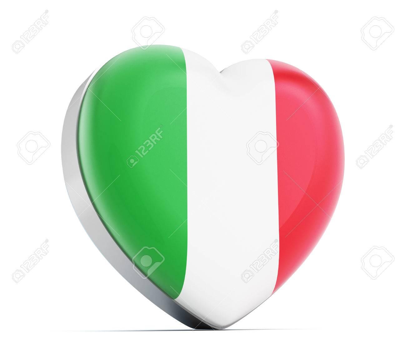 1300x1114 Italy Italian Flag Heart