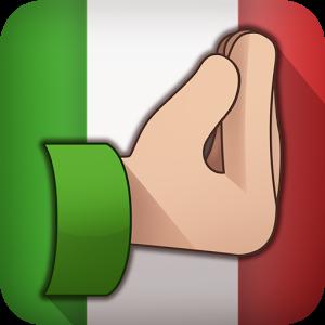 300x300 Hand Gesture Clipart Italian